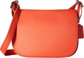 Coach Leather Saddle Bag