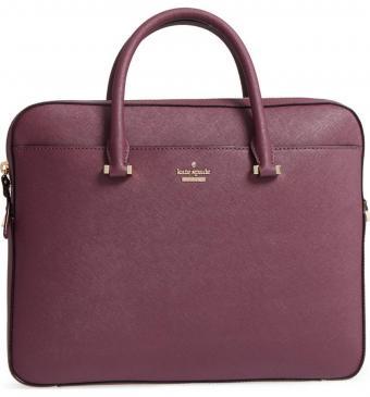 saffiano leather laptop bag KATE SPADE NEW YORK
