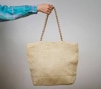 Eco shopping cotton tote bag
