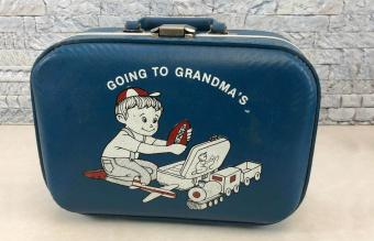 Going to Grandma's Vintage and Modern Suitcase Styles