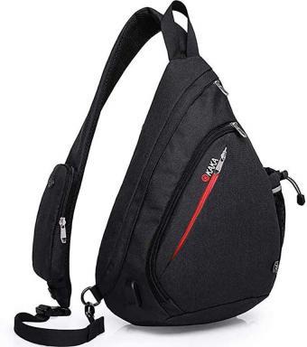 KAKA Nylon Crossbody Sling Bag