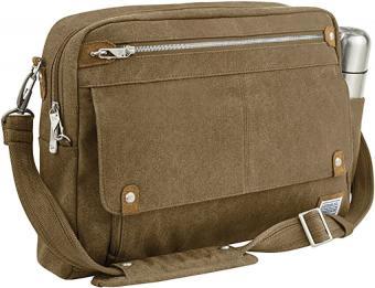 Travelon Anti-Theft Heritage Messenger Briefcase