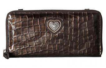 Brighton Bellissimo Heart Zip Wallet