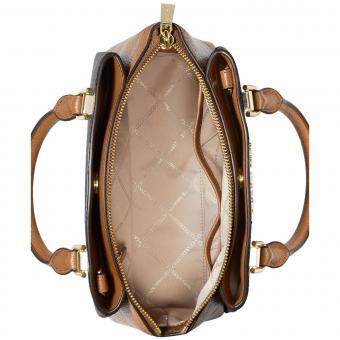 Michael Kors Signature Maxine Small Leather Messenger Bag