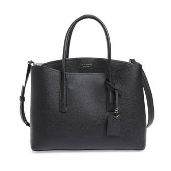 Large Margaux Leather Satchel