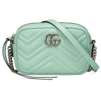 Gucci Mini GG 2.0 Matelassé Leather Camera Bag