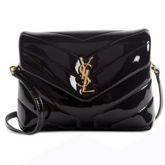 Saint Laurent Toy Lou Patent Leather Crossbody Bag
