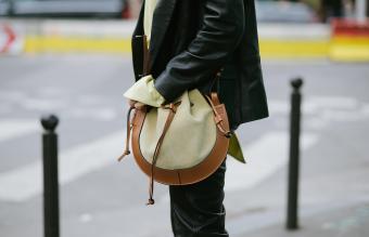 Loewe small horseshoe bag