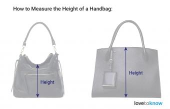 Measure the Height of a Handbag
