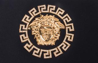 Versace handbag medusa logo