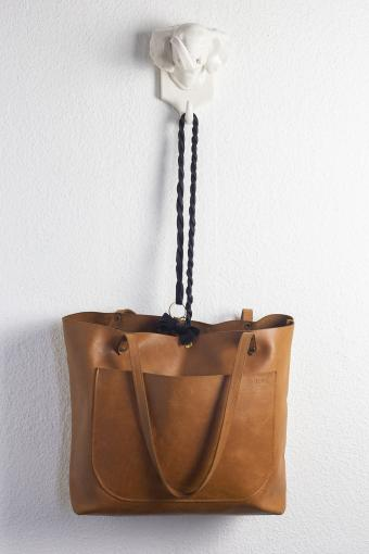 Purse With Twilly Scarf for a Bag Handle