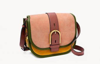 Fossil Wiley Saddle Bag