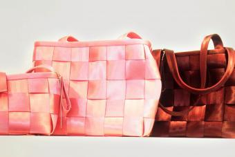 Pure Detroit Seatbelt Bags
