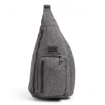 Grey Vera Bradley Sling Backpack