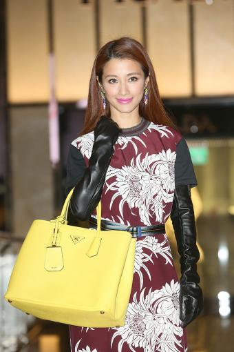Janet Lee attends Prada 'Double Bag' launch