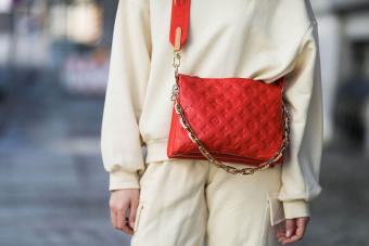 Louis Vuitton Coussin red bag