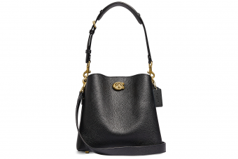 COACH, Willow Leather Bucket Bag