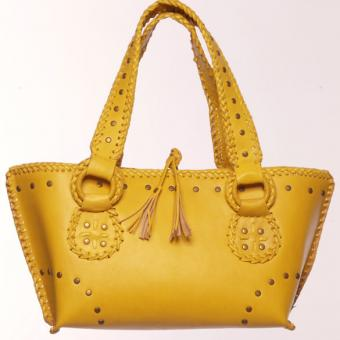 Yellow Nadja bag from Blumera Handbags