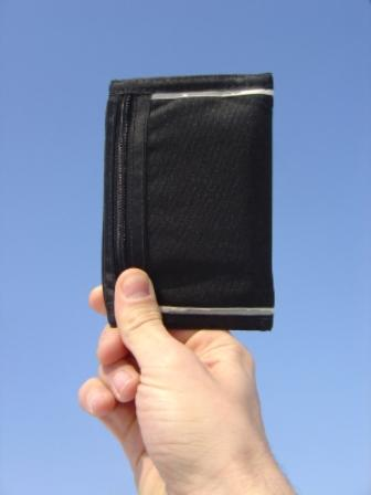 Image of a nylon sports wallet
