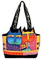 feline handbag pattern