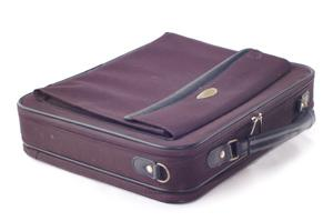 purple laptop bag