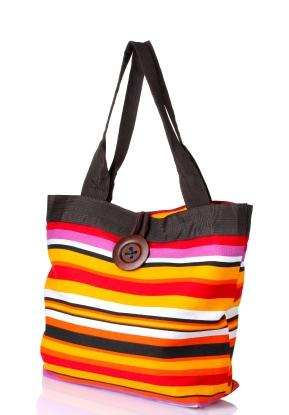 bright beachy tote