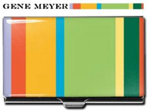 Gene Meyer Striped Card Case at Amazon.com