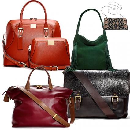 Selection of Marshall's handbags