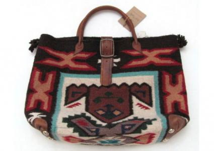 Two Bar Southwestern Style Handbag