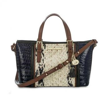 Brahmin Carlisle Collection Mini Asher Satchel
