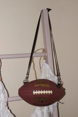 DIY Football Purse