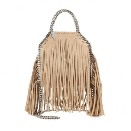 Falabella Mini Fringe Tote Bag
