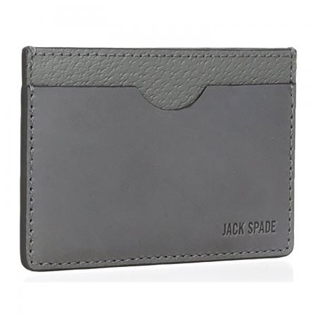 Jack Spade Men's Grant Leather Credit Card Holder