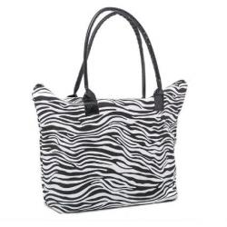 Zebra Print Tote