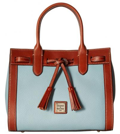 Dooney Bourke Pebble Ariel Satchel
