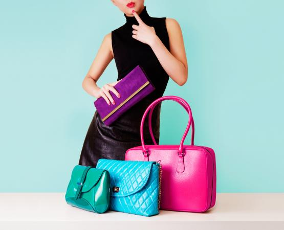 Choice Of Colorful Purses
