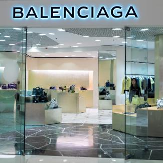 Balenciaga display window