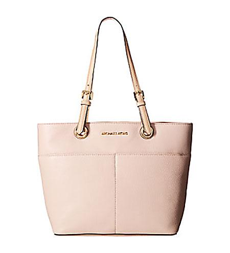 Michael Kors Bedford Top-Zip Pocket Tote