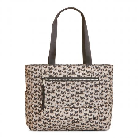 Noor Printed Laptop Tote