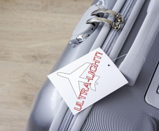 Luggage with tag
