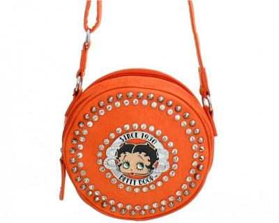 Coral Betty Boop Messenger Bag