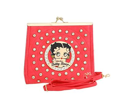 Red Betty Boop Clutch Handbag