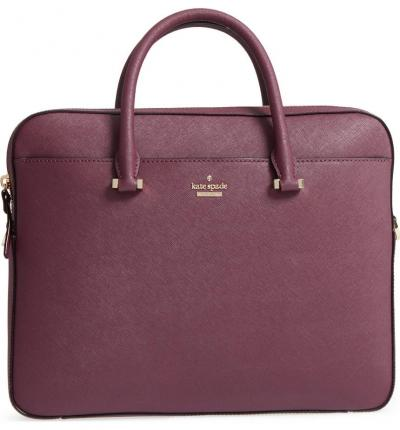 098ce63ce saffiano leather laptop bag KATE SPADE NEW YORK