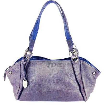 Franco Sarto Pebbled Leather Shoulder Bag
