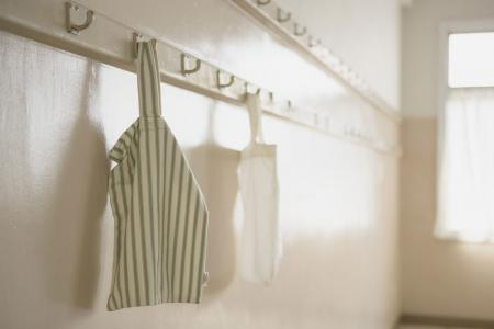 Cotton tote used as laundry bag