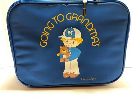 Suitcase Going To Grandmas Blue Boy