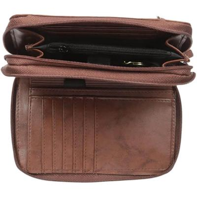 Buxton Heiress Double-Zip Organizer Wallet