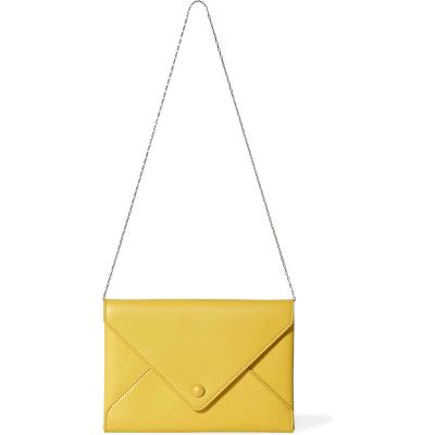 The Row's Leather Envelope Clutch