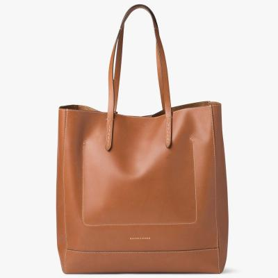 Ralph Lauren Collection Saddle Calfskin Tote