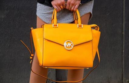 Yellow bag by Michael Kors